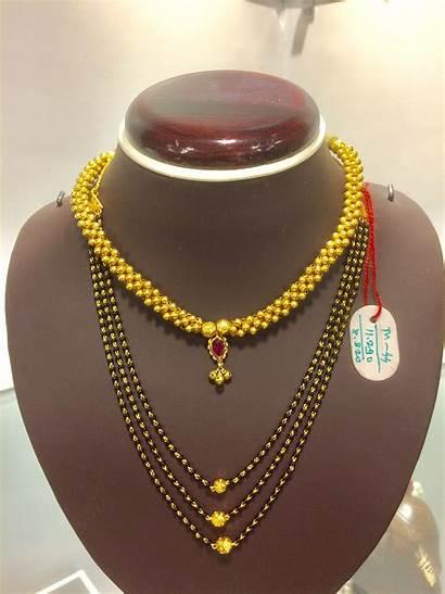 Maharashtrian Necklace Thushi Gold Traditional Jewellery Necklaces