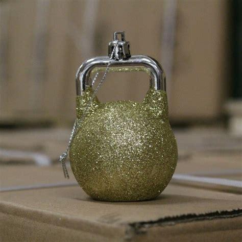 kettlebell ornaments ornament kettlebellkings glitter christmas challenge