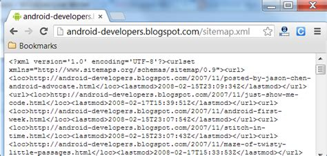 Blogger Rolling Out Xml Sitemaps Widgets