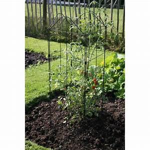Arche Metal Pour Plante Grimpante : support treillis et tuteur plante grimpante jardin et ~ Premium-room.com Idées de Décoration