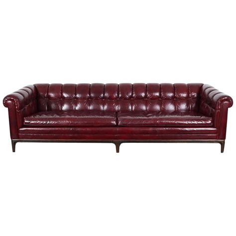 antique tufted leather sofa vintage biscuit tufted leather sofa by monteverdi young