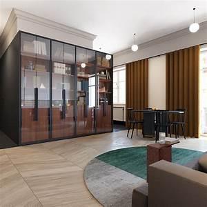 600, Square, Feet, Apartment, Design, With, Wonderful, Maximalist, Decorating, Ideas