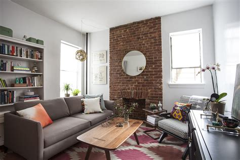 brooklyn  brick  furniture arrangements