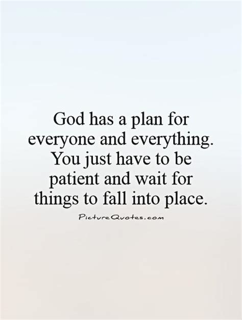 Trust That God Has A Plan Quotes