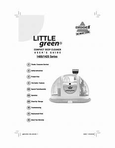 Bissell Little Green 1400 Series User Manual