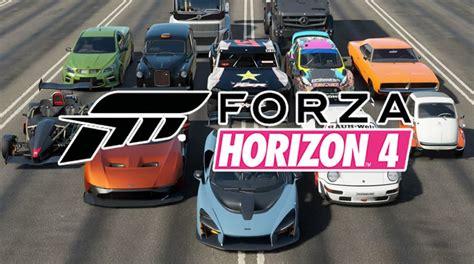 forza horizon 4 complete car list r4pg