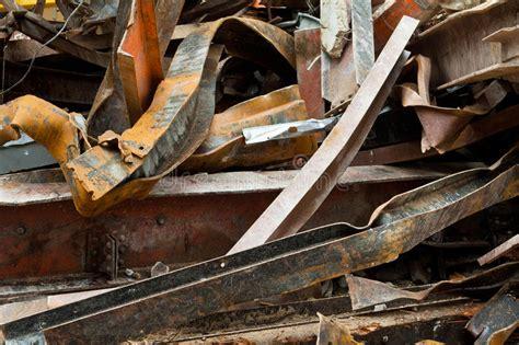 scrap girders steel metal demolition building rusty pile twisted site recycled being works royalty shutterstock pic stockfresh vectors prepared
