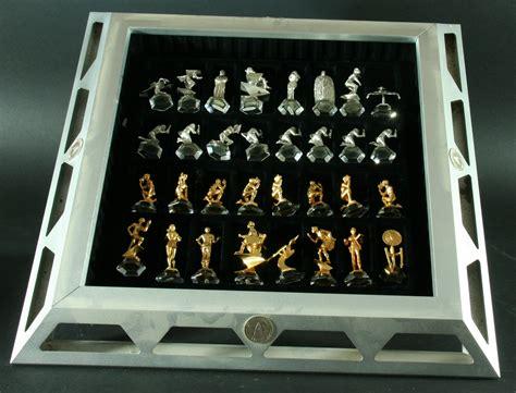 trek 25th anniversary chess set