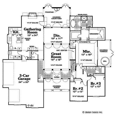 florida style home plans design pinterest