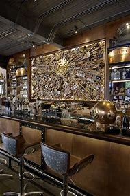 Steampunk Bar Interior Design