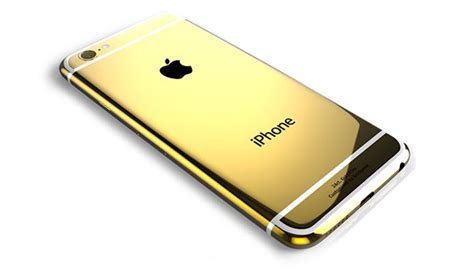 gold iphone 6 gold coated and swarovski studded iphone 6 by goldgenie