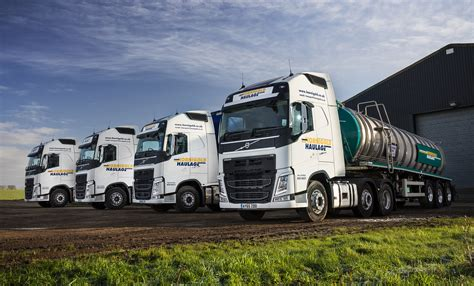 fuel efficient volvos  hornigold haulage hit