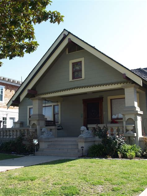 Miner Smith Craftsman Bungalow, Belmont Heights, Long