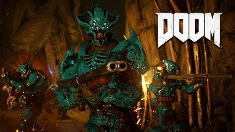 ps4 releases doom marine customization trailer