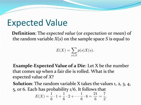 PPT - Expected Value PowerPoint Presentation, free ...