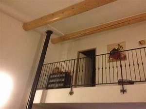 Escalier Fer Et Bois : rambarde d 39 escalier en fer forge avec marches en bois ~ Dailycaller-alerts.com Idées de Décoration