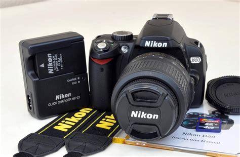 nikon d60 nikon d60 10 2 mp digital dslr kit w af s dx 18