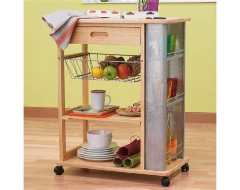 kitchen trolley design photos table desserte cuisine roulettes 6332