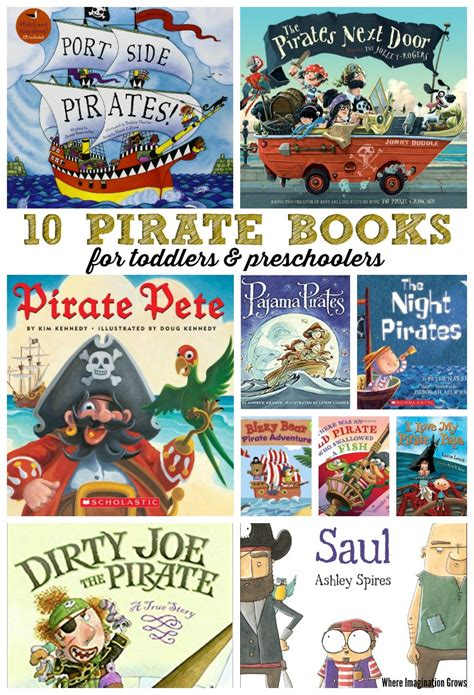 10 pirate books for where imagination grows 380 | pirate books preschool toddler