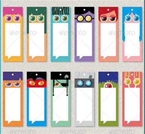 beautiful printable bookmark templates  psd