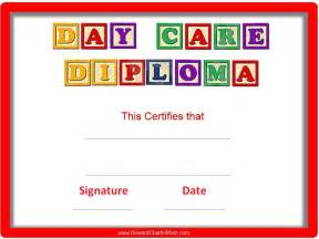 Free Printable Child Care Certificate Template