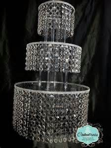 rhinestone cake stand wedding cake stand 5 tier by cakedress on etsy