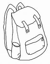 Backpack Coloring Pages Printable Backpacks Clipart Library Cliparts Clip Popular Sheets Printables Coloringhome sketch template