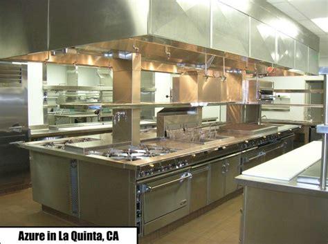 Jade Range Custom Island Suites  Commercial Kitchen