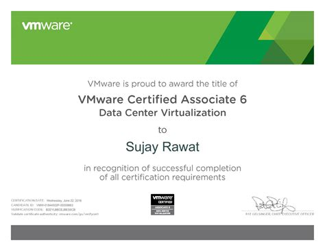 VMware Certified Associate 6 - Data Center Virtualization ...