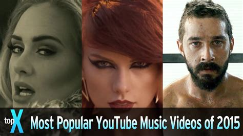 Top 10 Most Popular Youtube Music Videos Of 2015