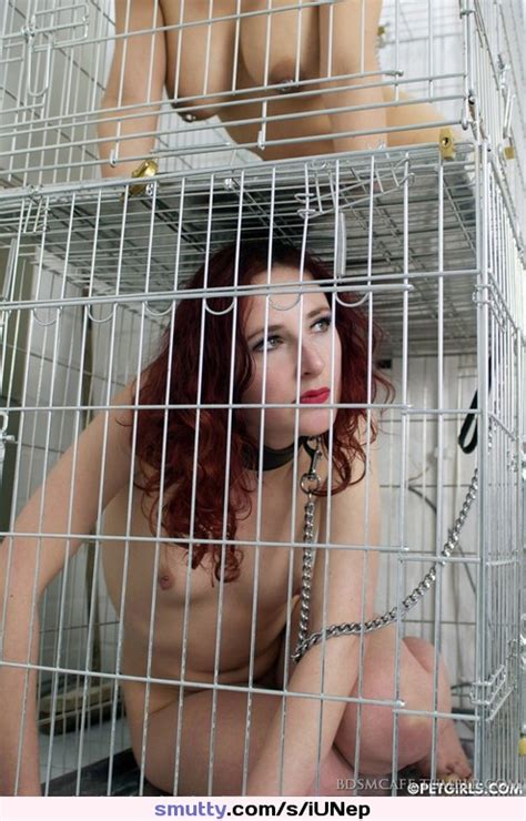 Bdsm Bondage Collar Leash Collarandleash Chain Cage Caged Restrained Pet Petplay