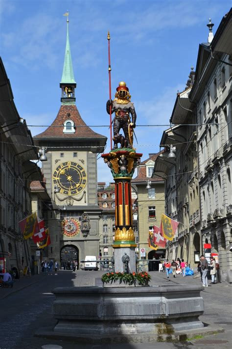 Nanda & Nathan The Travellers: Switzerland: Bern Old Town ...