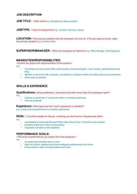 47 Job Description Templates & Examples  Template Lab. Job Application Letter For Accountant Assistant Template. Youtube Channel Art Template 2017. Sample Construction Manager Resume Template. Jeopardy Template Powerpoint 2010 With Sound. Chinese New Year Ppt Template. Donald Trump Proposals. Welcome Back To School Ppt Template. Cover Letter For College Instructor