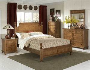 The colors of Pine bedroom furniture