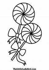 Coloring Lollipop Sucker Candy Lollypop Pages Lollipops Printable Sheet Sheets Getcolorings Getdrawings sketch template