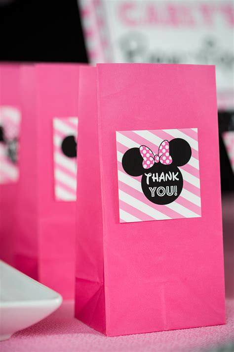 pink minnie mouse birthday party directions  design