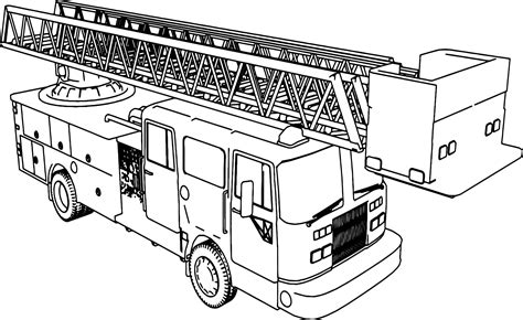 firetruck coloring page neo coloring