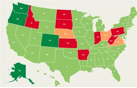 progress  marijuana legalization   states