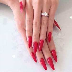 10 pointy nail designs ideas design trends premium