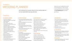 wedding guide wedding planner wedding planner guides