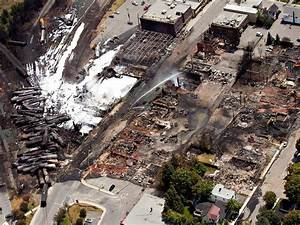 The downtown core lays in ruins as fire fighters continue ...