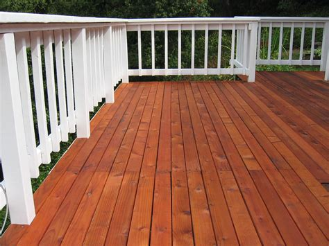 deck refinishing sanded stained sealed cjo maintenance