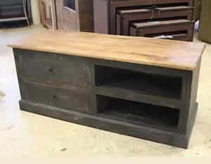 Petit Meuble Noir : meubles manguier et bois recycle ~ Teatrodelosmanantiales.com Idées de Décoration