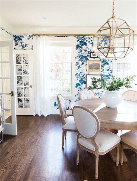dining room wallpaper ideas  pinterest