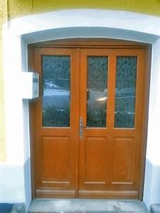 porte d39entree tiercee en bois avec vitrage solabaie With porte d entrée tiercée
