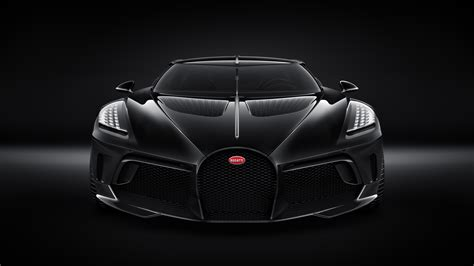 Luxurius Car : Bugatti Unveils La Voiture Noire, The Most Expensive New