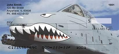 Warthog A10 Checks Air Force Thunderbolt Airplane