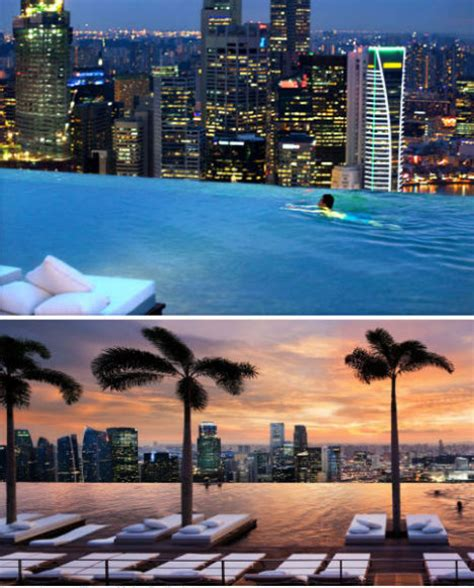 invisible edges  death defying infinity pool designs