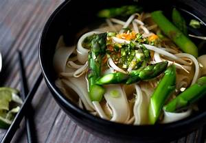 vegetarian pho with asparagus and noodles the new york times