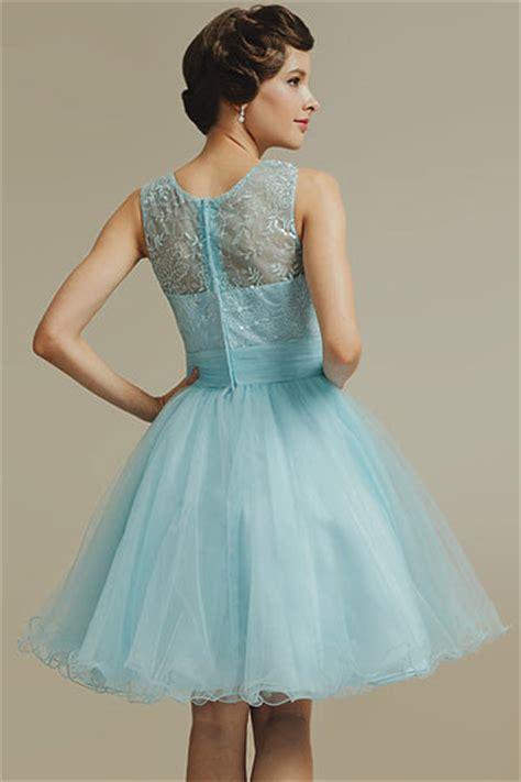 robe demoiselle d honneur bleu robe demoiselle d honneur bleu au genou en tulle 224 jupe 233 vas 233 e robespourmariage fr